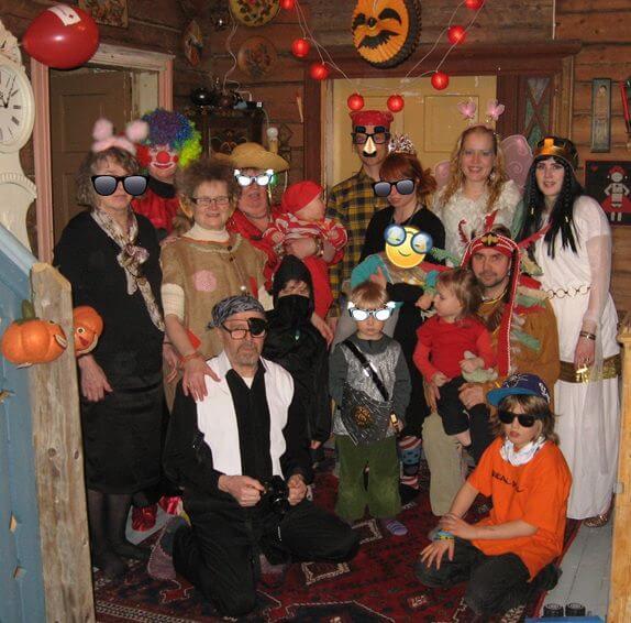 Jännittävää tekemistä naamiaisjuhliin ja halloweenjuhliin!