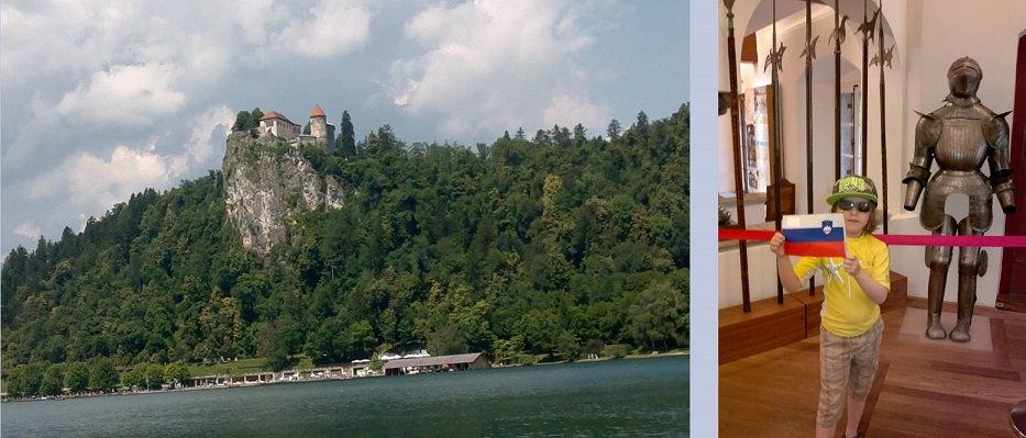 Sloveniassa lasten kanssa