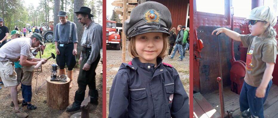 matkavinkkejä lapsiperheille Suomessa