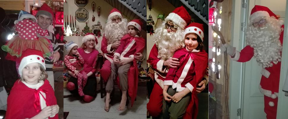 Joulunviettoa Koikkelassa: oi kuusipuu, joulupukki valkoparta, höpsötys ja yhdessäolon riemu!