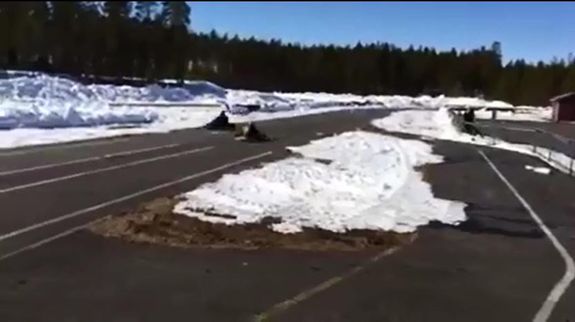 Kartingin hurmaa huhtikuussa lumen keskellä!