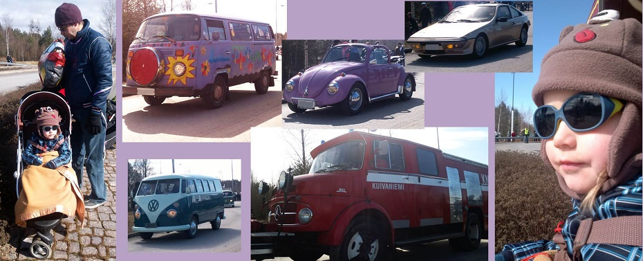 matkavinkkejä lapsiperheille vanhat autot
