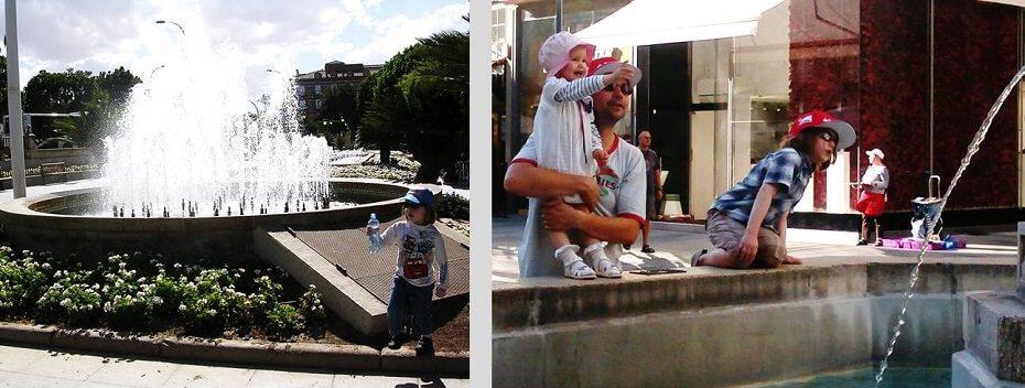 kaupunkimatkailua lasten kanssa