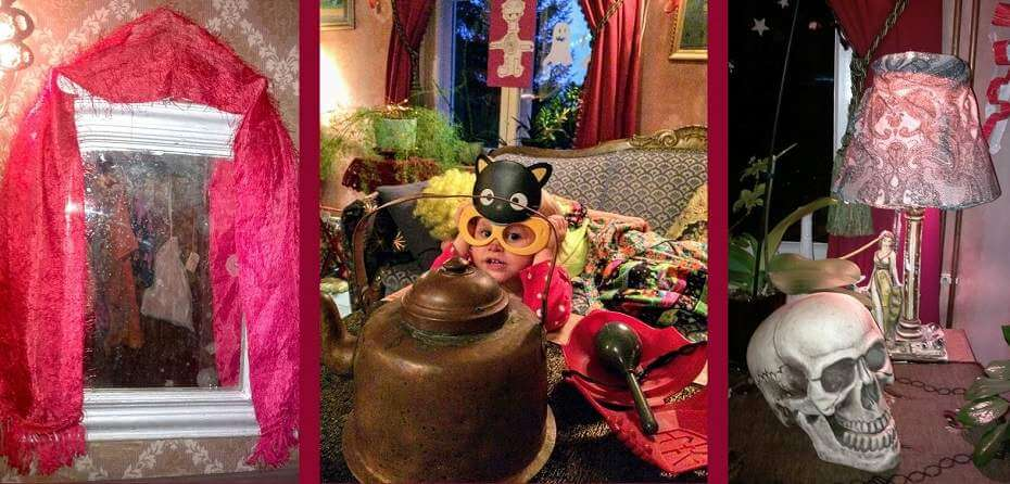 Viisi Halloween-koristeluideaa: koti jännittäväksi huiveilla ja muilla helpoilla kikoilla!