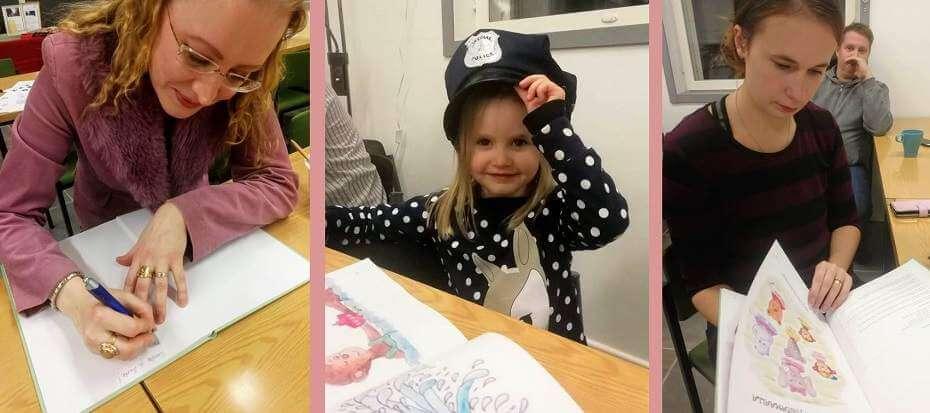 Lastenkirjan julkistamistilaisuus Hietamaalla: hauskaa sekä lapsille että aikuisille!