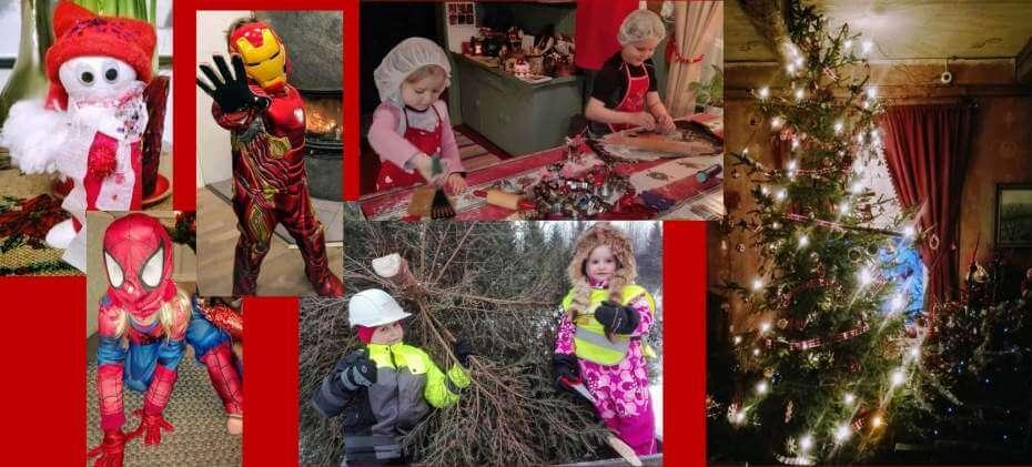 Joulunviettoa Koikkelassa: kuvia ja tarinaa joulukuun ajasta