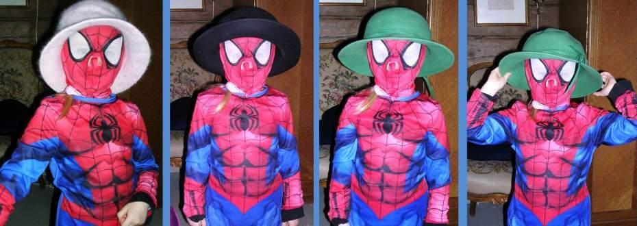 lapsen Hämähäkkimies-asu