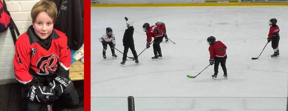 Jääkiekkoharrastuksen aloittaminen – 9-vuotiaana joukkueeseen