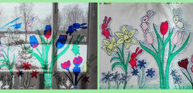 Askartele lapsen kanssa pääsiäiskoriste