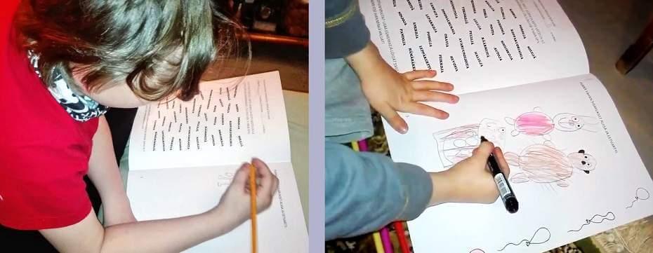 piirtäminen lastenkirja